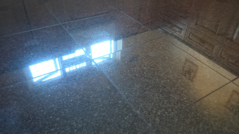 Granite Floor Cleaning & Sealing