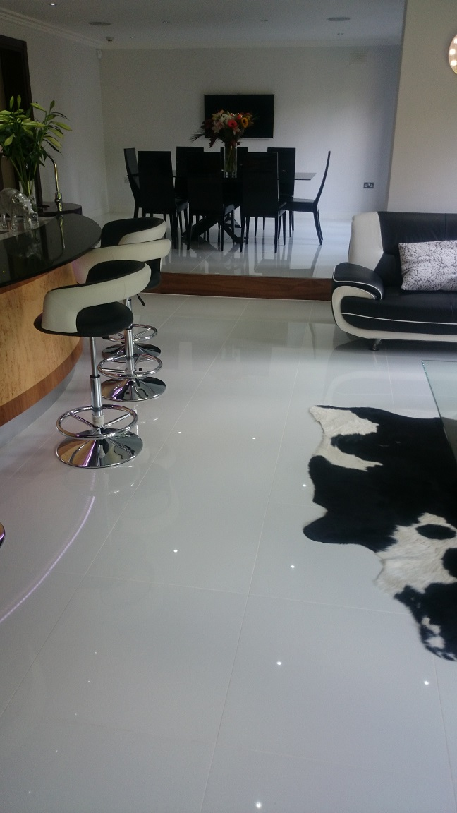 Porcelain Floor Cleaning, Keston, Kent