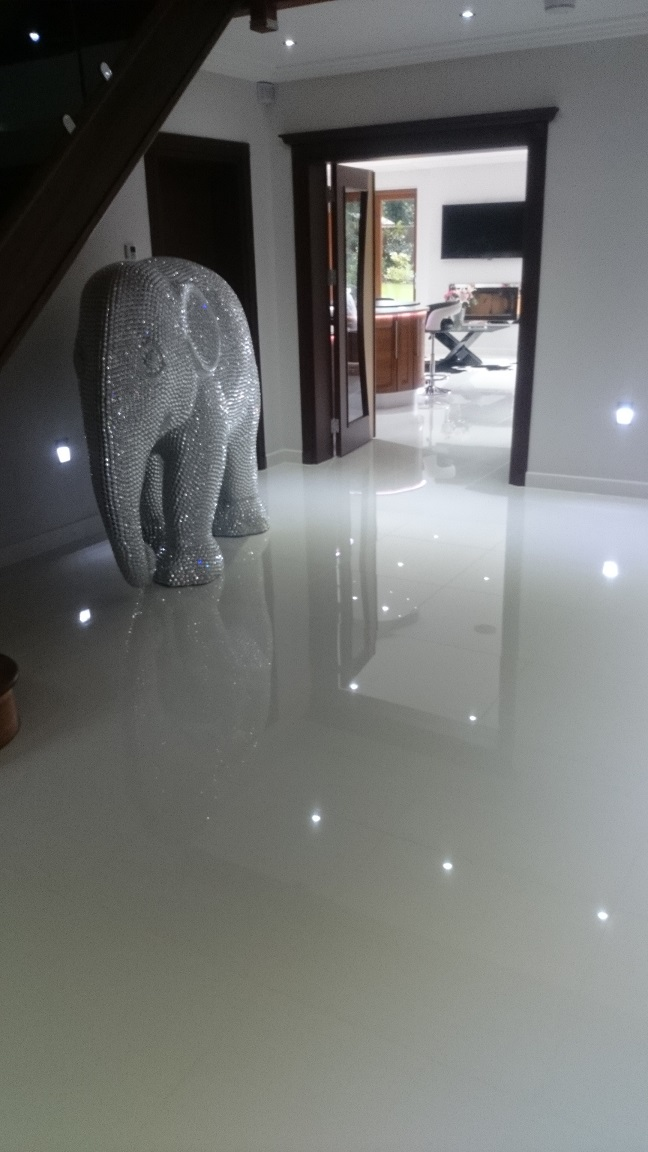 Porcelain Tiled Floor & Groute Cleaning, Keston Park, Kent