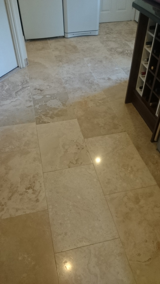 Travertine Floor Kingswood, Surrey, KT20