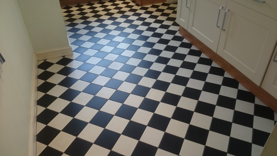 Victorian Tiled Floor Cleaning In Sevenoaks, kent